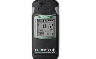 Monitor de radiação preço