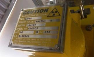 Teste de esfregaço em fontes radioativas